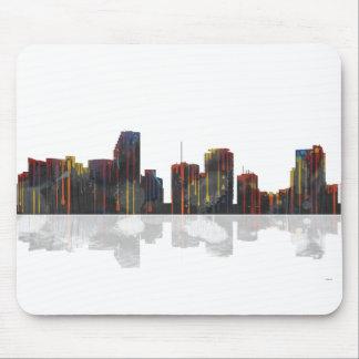 Miami Florida Skyline Mouse Pad