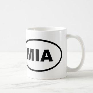 Miami MIA oval Coffee Mug
