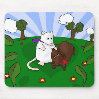 Mice in Love Mouse Pad