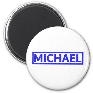 Michael Stamp 6 Cm Round Magnet