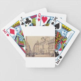 Michaelerplatz and carbon market in Vienna by Rudo Card Deck