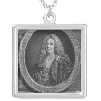 Michel Etienne Turgot Silver Plated Necklace