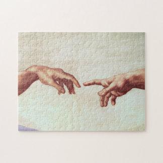 Michelangelo Hands Puzzles