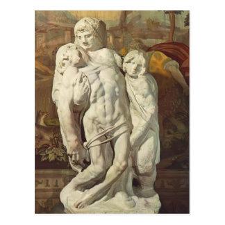Michelangelo- Palestrina Pieta Postcard