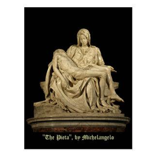 Michelangelo's Pieta Classic Renaissance Postcard