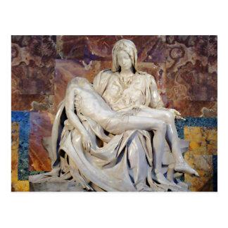Michelangelo's Pieta Postcard