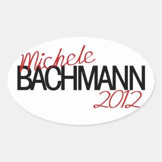 Michele Bachmann 2012 Oval Sticker
