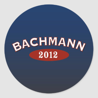 Michele Bachmann Arc 2012 Classic Round Sticker