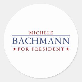 Michele Bachmann Classic Round Sticker