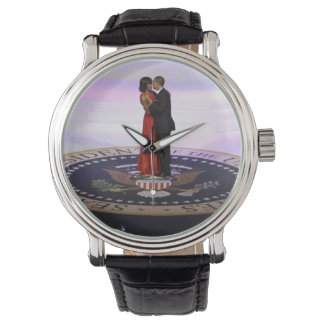 Michelle and Barack Obama Wrist Watch