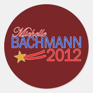 Michelle Bachmann 2012 Campaign Gear Classic Round Sticker