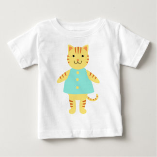 Michelle Cat Baby T-Shirt