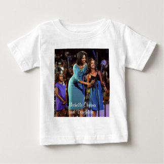Michelle Obama and Daughters Baby T-Shirt
