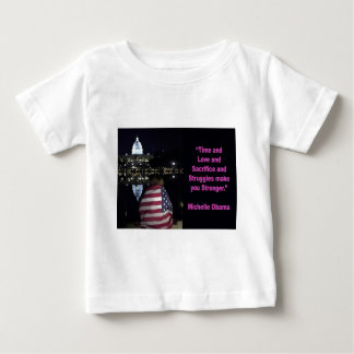 Michelle Obama inspiration quote Baby T-Shirt