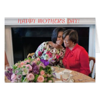 Michelle Obama - Mother's Day Card 1