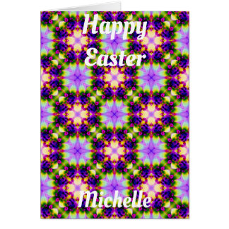 MICHELLE ~ Personalised Easter card pattern ~