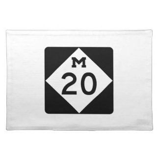 Michigan M-20 Placemat