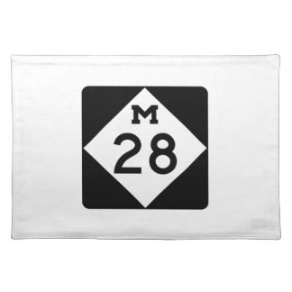 Michigan M-28 Placemat