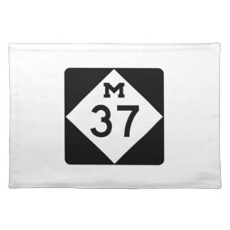 Michigan M-37 Placemat