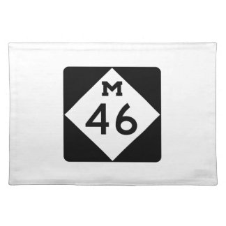 Michigan M-46 Placemat