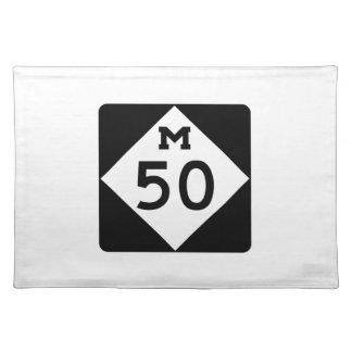 Michigan M-50 Placemat