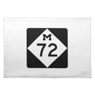 Michigan M-72 Placemat
