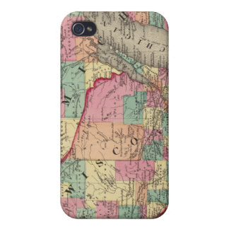 Michigan, Minnesota, and Wisconsin iPhone 4 Cover
