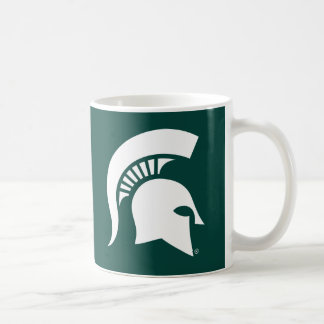 Michigan State University Spartan Helmet Logo Coffee Mug