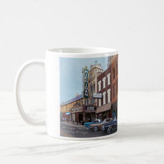 Michigan Theatre Jackson Michigan Coffee Mug