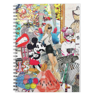 Mickey and missy notebooks
