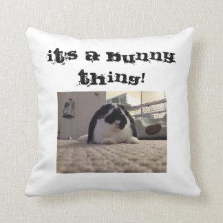 Mickey bunny pillow