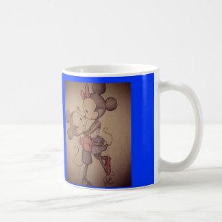 mickey & minnie cup