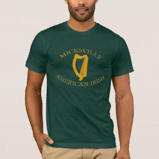 Micksville American Irish Tee