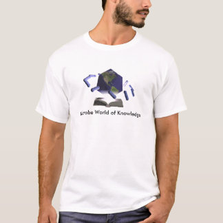 Microbe World of Knowledge, Microbe World of Kn... T-Shirt