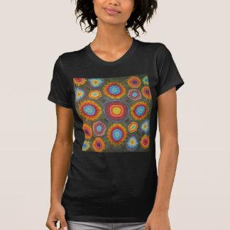 Microdot Tie Dye Circles T Shirts