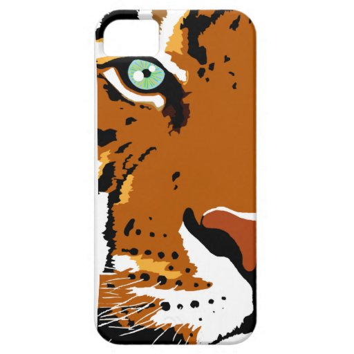Microsoft Paint Tiger iPhone 5s Cover Case For iPhone 5/5S