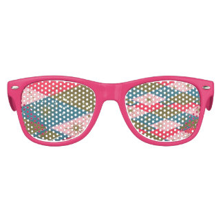 Mid Century Girl Party Glasses