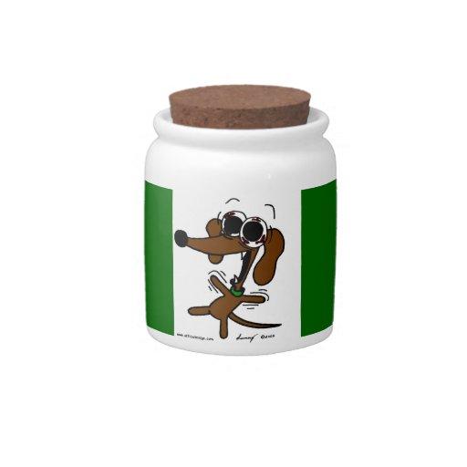 Midge Freakin' Out Treat Jar Candy Jars