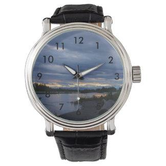 Midnight Alaska Sunset Watch