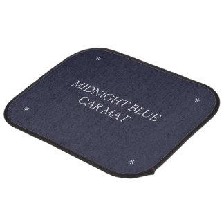 Midnight blue car mats car mat