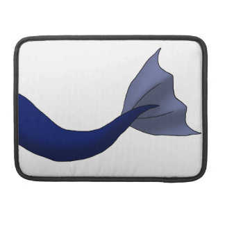 Midnight Blue Mermaid Tail Sleeves For MacBook Pro