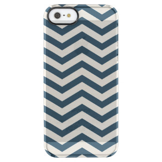 Midnight Cream Chevrons Clearly™ Deflector Case