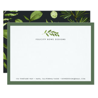 Midnight Garden | Business Stationery Flat Card