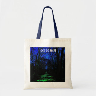 Midnight Path TRICK OR TREAT Tote Bag