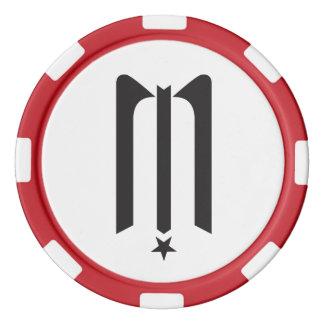 Midnight Star Poker Chip