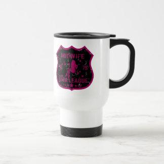 Midwife Diva League Travel Mug