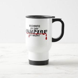 Midwife Vampire by Night Travel Mug