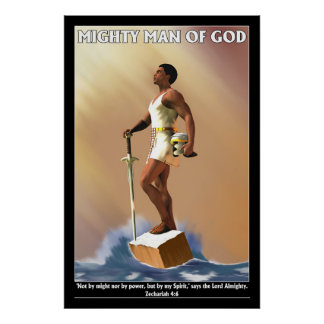 Mighty Man of God Poster