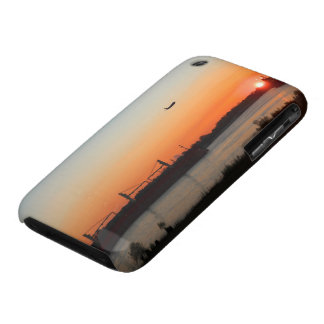 Mighty Mississippi River at Sunset iPhone 3 Case-Mate Cases