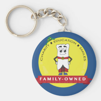 Mighty MolarMan Seal of Approval Keychain